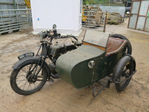 1924 AJS Model D Combo