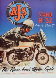AJS Motorcycles period advertising