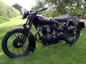 1934 Brough Superior Black Alpine