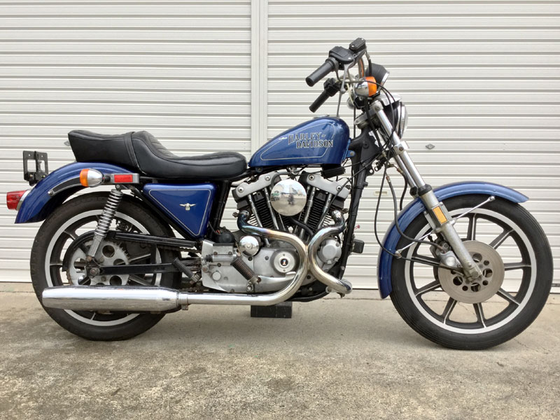 1979 Harley Davidson Sportster XLH1000 Up For Auction | Clic ...