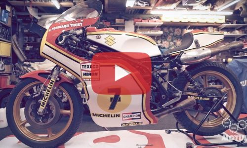 Suzuki restores Barry Sheene 1976 world championship-winning XR14