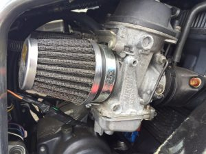 GSX-R1100L engine