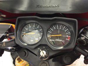 Kawasaki AR50 clocks