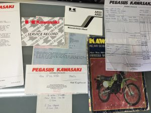 Kawasaki AR50 C-10 History