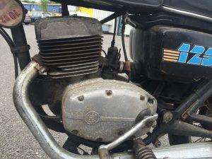 CZ125 engine
