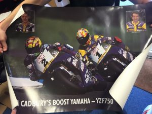YZF750 poster