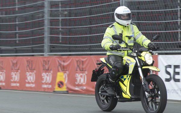 Zero electric motorcycle