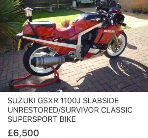 1988 Suzuki GSXR1100J