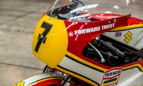 Barry Sheene's 1976 world championship-winning XR14