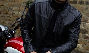Roscoe. The perfect jacket for whatever and wherever you ride