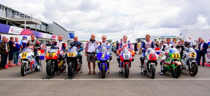 Silverstone Classic Bike Line-up