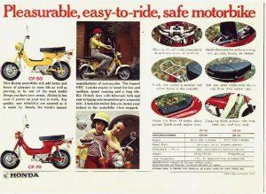 Classic Honda CF50-CF70 Brochure