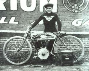 Lee Humiston' s Excelsior covered the one-mile Playa del Rey in 36 seconds or 100mph Dec 30th 1912