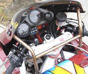1996 Harris Magnum 5 Cockpit