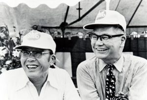 Honda engineered and Takeo Fujisawa marketed