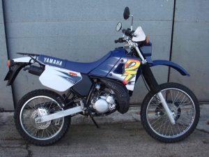 classic Yamaha DT125