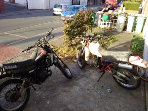 Mark 1 Yamaha DT125LC and DT80LC