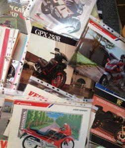 Classic Bike Brochures