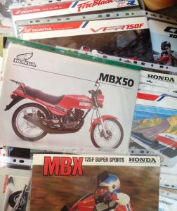 Motorcycle brochures