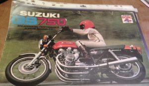 Suzuki GS750 brochure