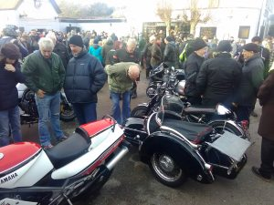 Boxing Day meet at the Pied Bull, Farningham