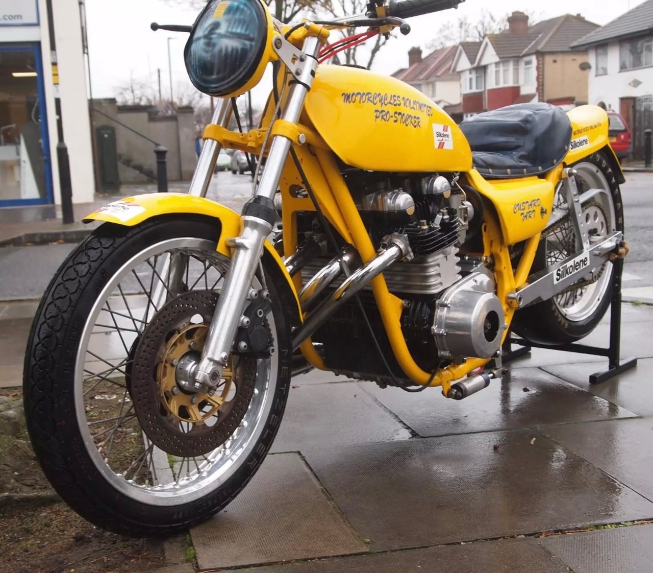 Ex Brian Johnson Imperial Wizard Pro Stock Drag Bike