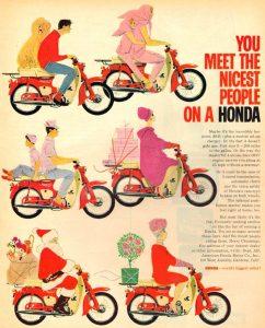 Period Honda Cub Advert