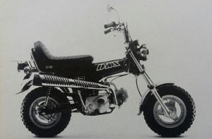 Jap spec Dax got four gears and Easy Rider image