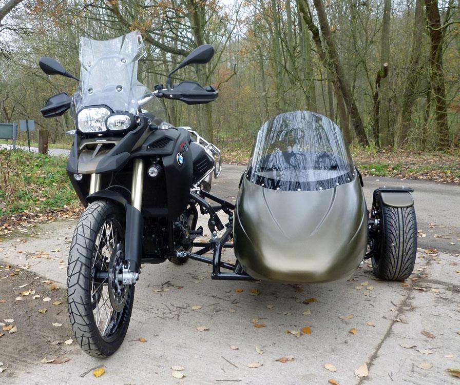 Flight Sidecar Fit For Bmw F800gs Classic Motorbikes