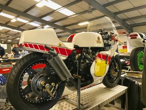 Yamaha TZ twin cylinder
