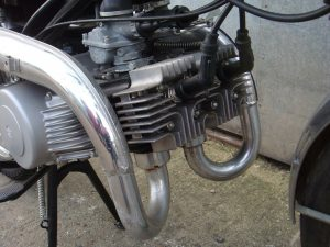 1969 Suzuki T90 Wolf zero miles engine