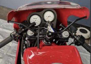 Ducati Laguna Seca F1 dash