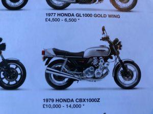Honda CBX1000Z