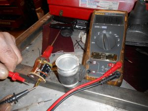 Indicator relay in bits…turned out to be ok but the new bulbs lower wattage