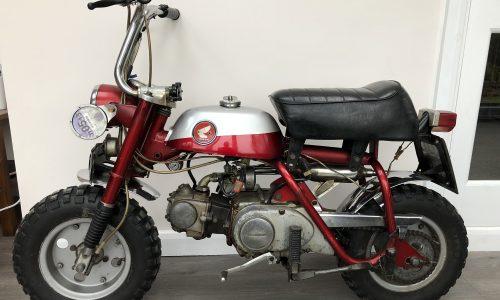 John Lennon Monkey-Trail bike XUC 91H