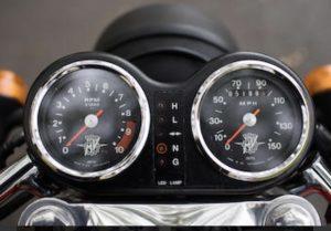 MV Agusta 750S speedo