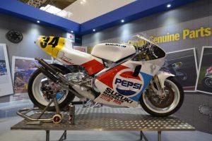 Suzuki's restoration of Kevin Schwantz's 1989 RGV500