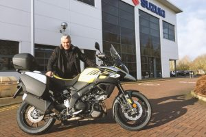 Suzuki to supply V-Strom 1000 marshal bikes for Welsh Road Race