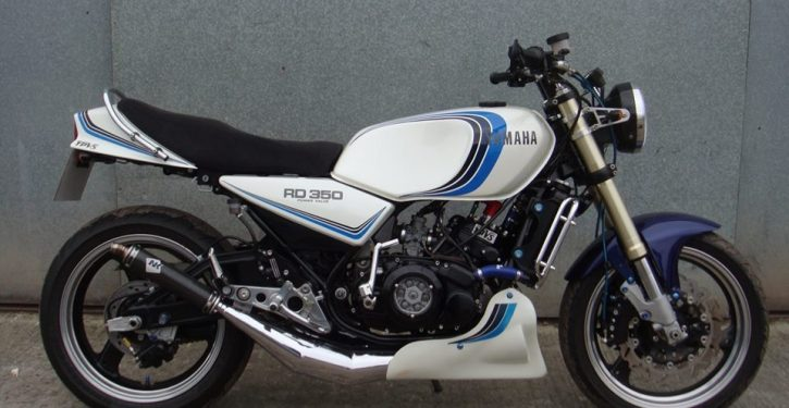 Yamaha RD350LC - YPVS Special