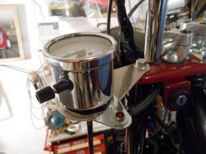 Honda Chaly unique speedo