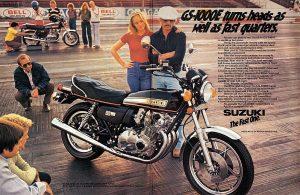 Suzuki GS 1000E 78 advert