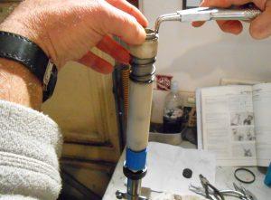 Honda Chaly CF70 fork restoration