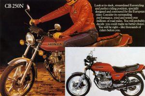Honda CB250N Brochure