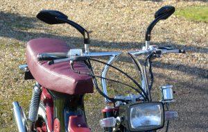 Honda Chaly custom bars