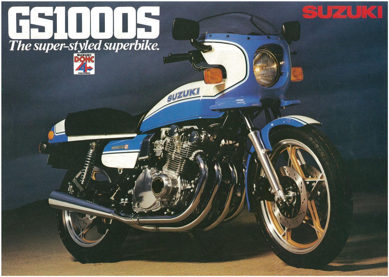 The Suzuki GS1000 - Classic rides of the Pre-Pensioner - Classic