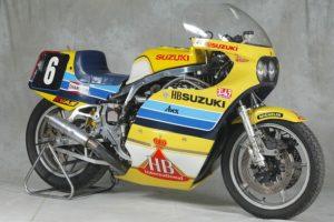 Suzuki GS1000 still competing over 24 hours in 1983