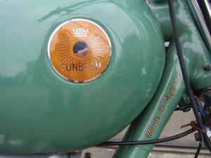 Sunbeam Bobber tank