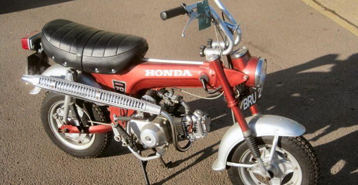 1972 Honda ST70 'Monkey Bike'
