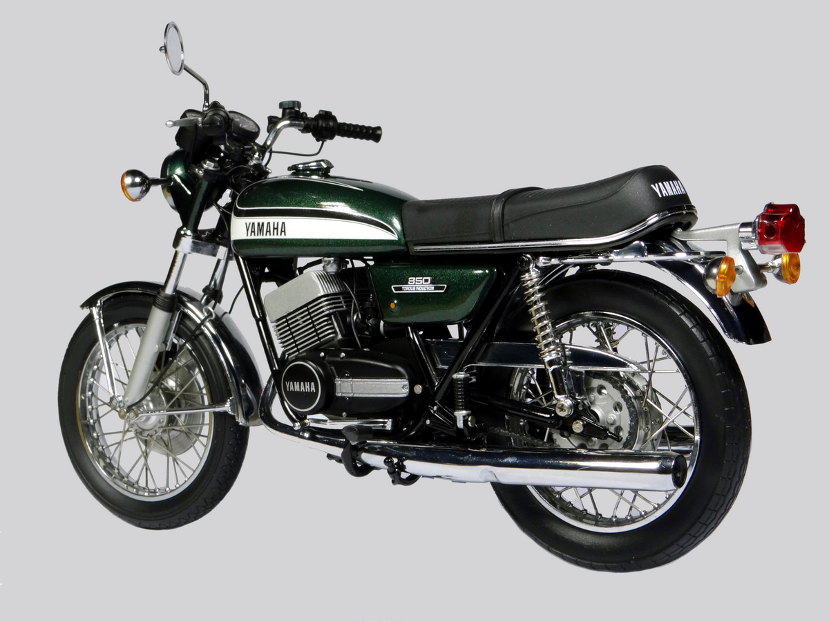 Yamaha RD250/RD400 - Classic rides of the Pre-Pensioner