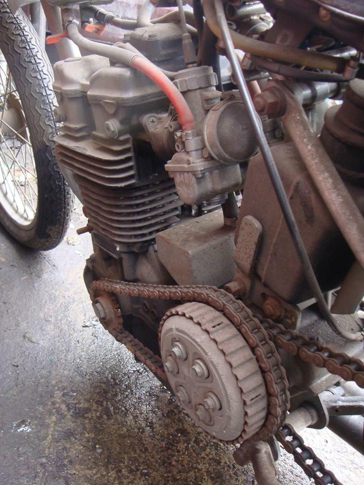 JAP powered speedway motorcycle bike